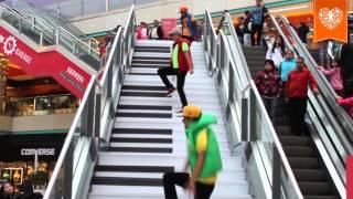 Gana con la Escalera Musical de MegaPlaza Lima Norte