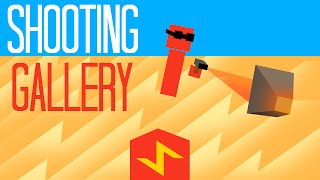 Shooting Gallery in Minecraft