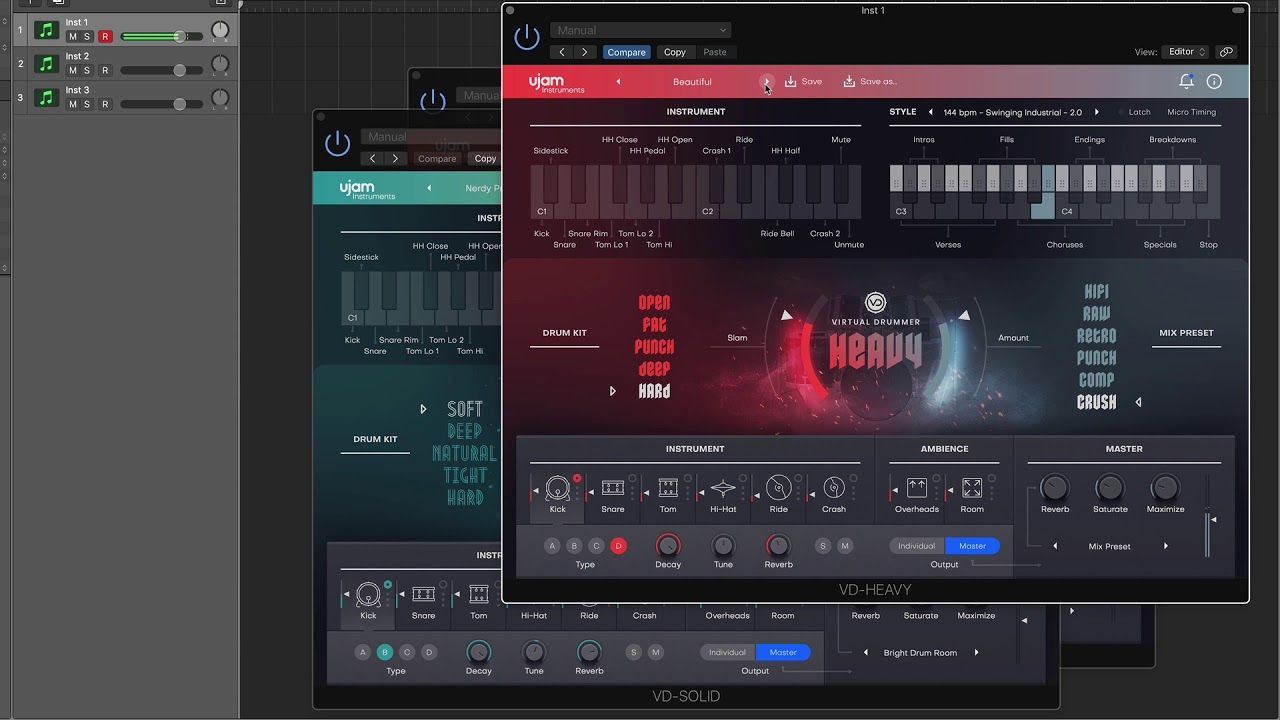 UJAM Virtual Drummer Overview 虛擬鼓手 | 帝米數位音樂