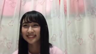 2017年01月06日 SHOWROOM NMB48 明石奈津子 『君はメロディー(AKB48)』