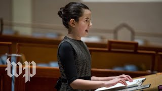 Visually impaired girl explains why her 'bat mitzvah feels so much better'
