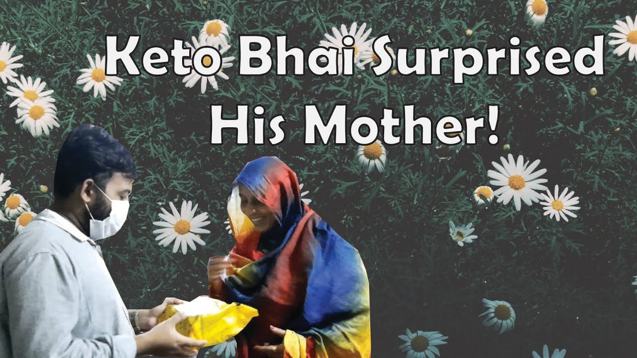 KETO BHAI GAVE HIS MOTHER SURPRISE | REALME 6i