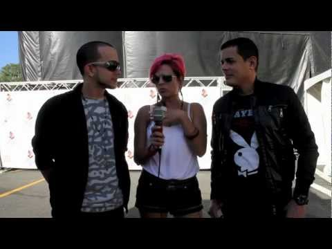 2011 Angel y Khriz, Latin Grammy Street Party