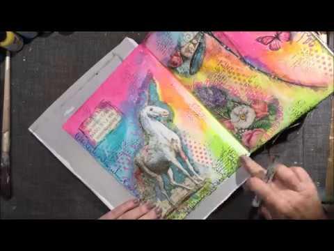Fantasy Journal Art