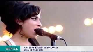 Aedea - Me &Mr Jones - Amy Winehouse live @ Isle Of Wight 2007 YouTube Videos