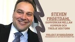 Steven Frostdahl - Samverkan mellan kommunen och tredje sektorn