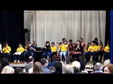 Feis Glaschu 2014: St Patrick's U12 B Band