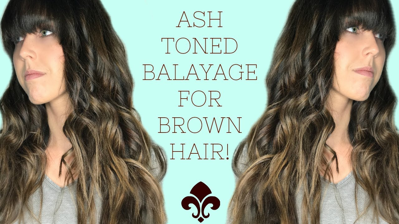 Ashy balayage for brunettes how to get texturized beach for 3 brunettes and a blonde salon