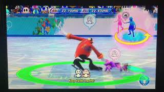 Mario & Sonic at the Sochi 2014 Olympic Winter Games Figure Skating Pairs 291