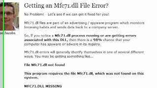 Mfc71.dll Error Fix - Not Foun…
