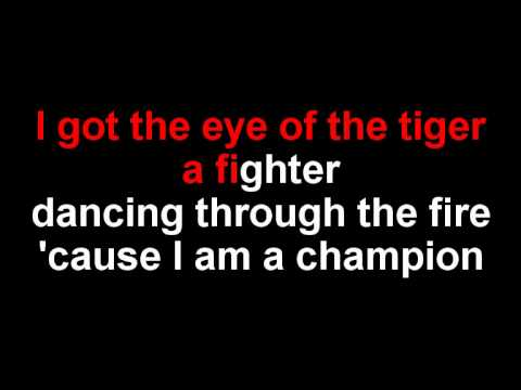 "Roar Karaoke in the Style of ""Katy Perry"" Sing Along with Lyrics"
