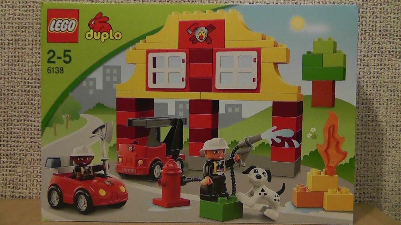 Lego Duplo 6138 Moja Pierwsza Straż Pożarna Youtube