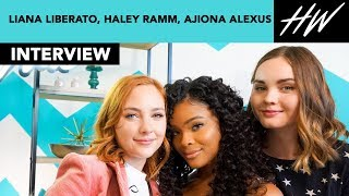 """Light As A Feather"" Liana Liberato, Haley Ramm, & Ajiona Alexus Reveal Celeb Girl Crush 