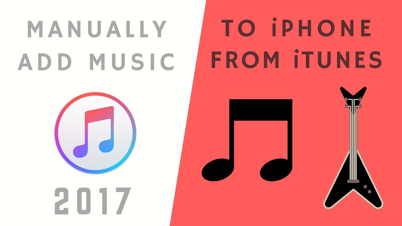 itunes add music to iphone how to manually add to iphone or ipod touch 17757