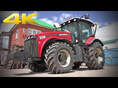 Трактор от Ростсельмаш серии 1000 мощностью 320 л.с. - универсальный и многозадачный