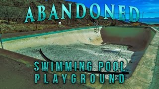 ABANDONED Swimming Pool & Playground in the Middle of Nowhere | PART 1
