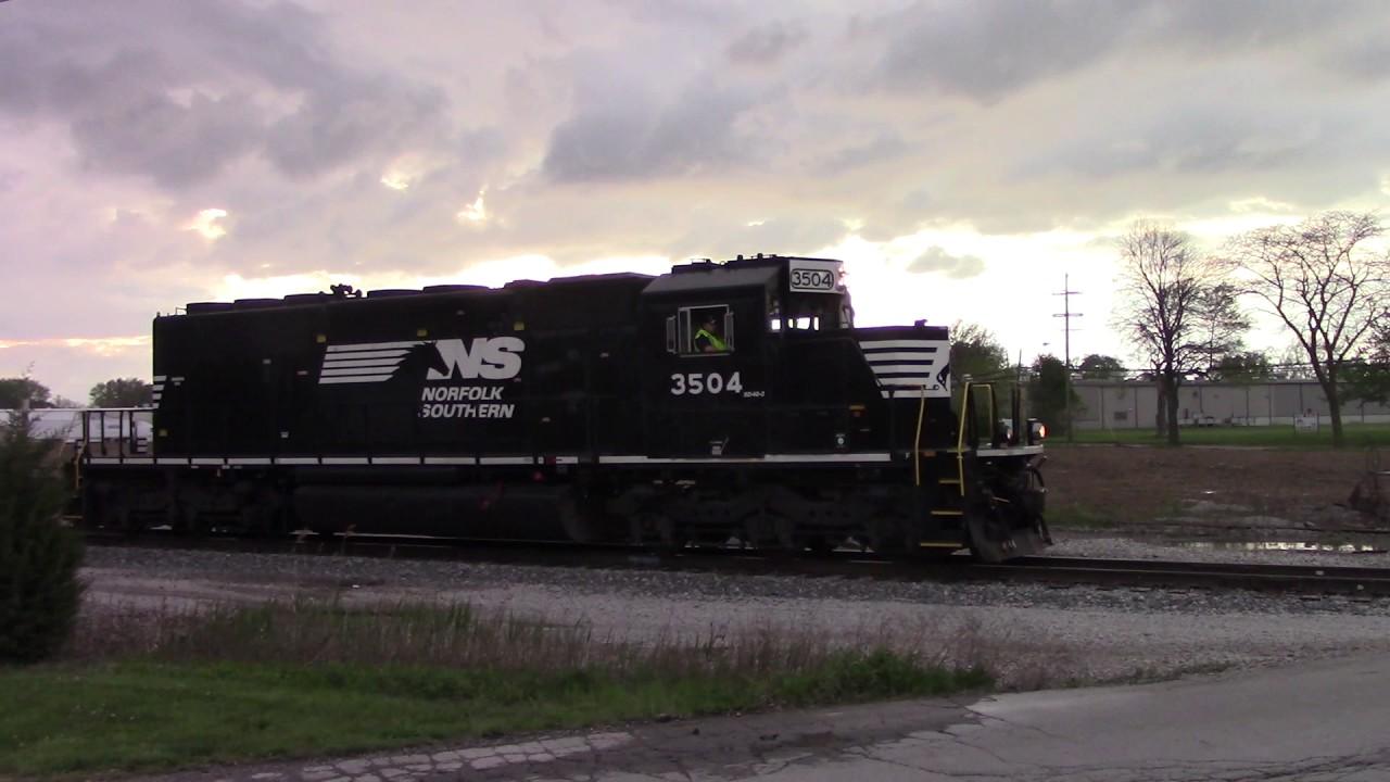 NS 3504 North Sandusky, OH - YouTube