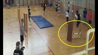【ハンドボール】ハードルを使った練習おもしろい!基礎トレから応用まで【トレーニング】handball