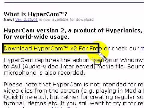 hypercam 2 free download full version