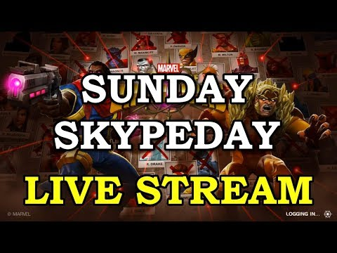 Sunday Skypeday Grind with Kam | Marvel Contest of Champions Live Stream