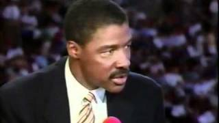 Dr  J, Magic and Bird discuss the 96 Bulls