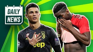 Ronaldo will STAY at Juve, Neymar returns for the title + What has Ole done?► Onefootball Daily News