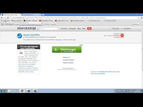 Hd tuto l comment t l charger gratuitement openoffice - Telecharger open office 4 1 1 gratuit ...