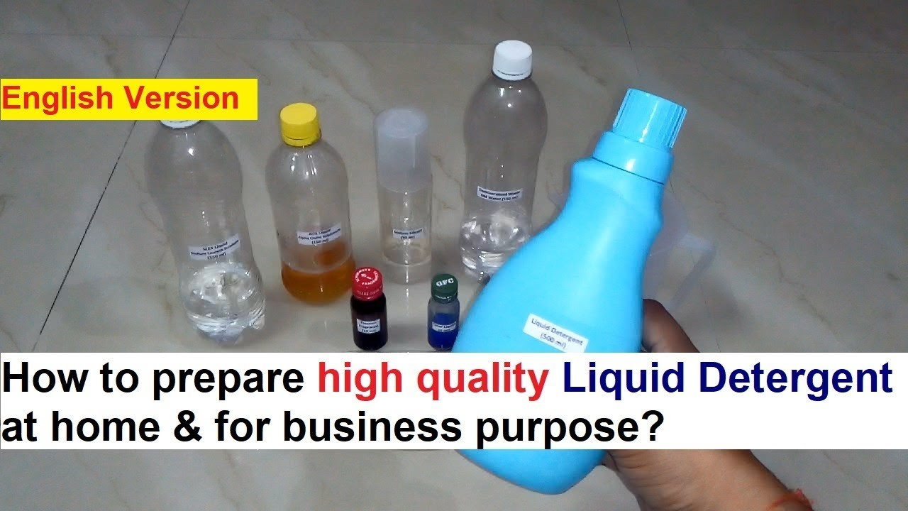 Liquid Detergent Making Process - 100