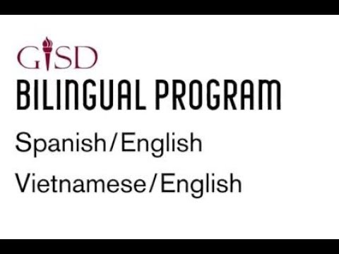 GISD Elementary Bilingual  program for elementary in English