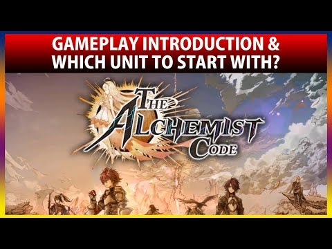 Gameplay Introduction & Guide To Best Unit To Start With (The Alchemist Code)