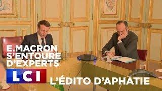 Coronavirus : E.Macron s'entoure d'experts