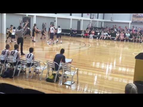 Australia Southern Cross Challenge 2017 U14 Boys Finals Game