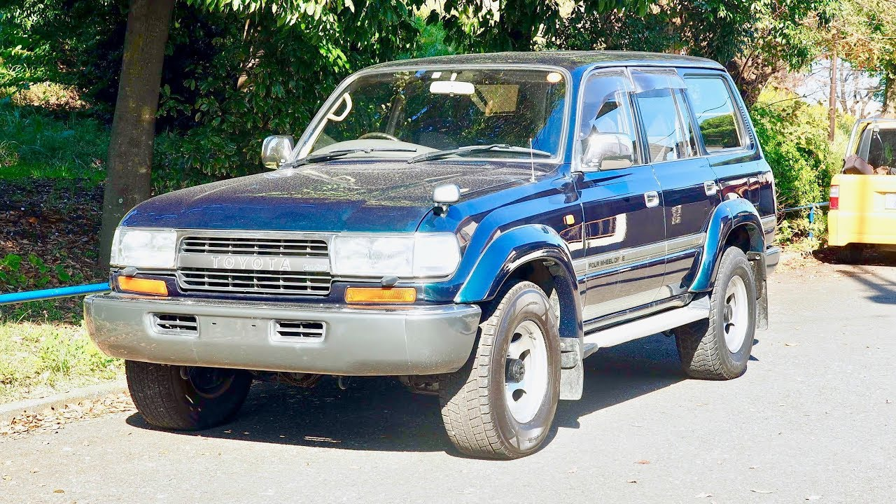 1993 Land Cruiser 80 Series Turbo Diesel MANUAL TRANSMISSION (USA Import)  Japan Auction Purchase