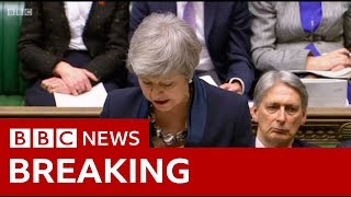 Brexit: May statement on future votes and Article 50 extension - BBC News