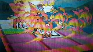 Mega Man Star Force 2 - Best Combo: Fire Slice
