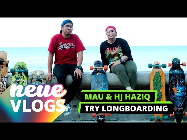 Neue Vlogs: Mau & Hj Haziq Try Longboarding