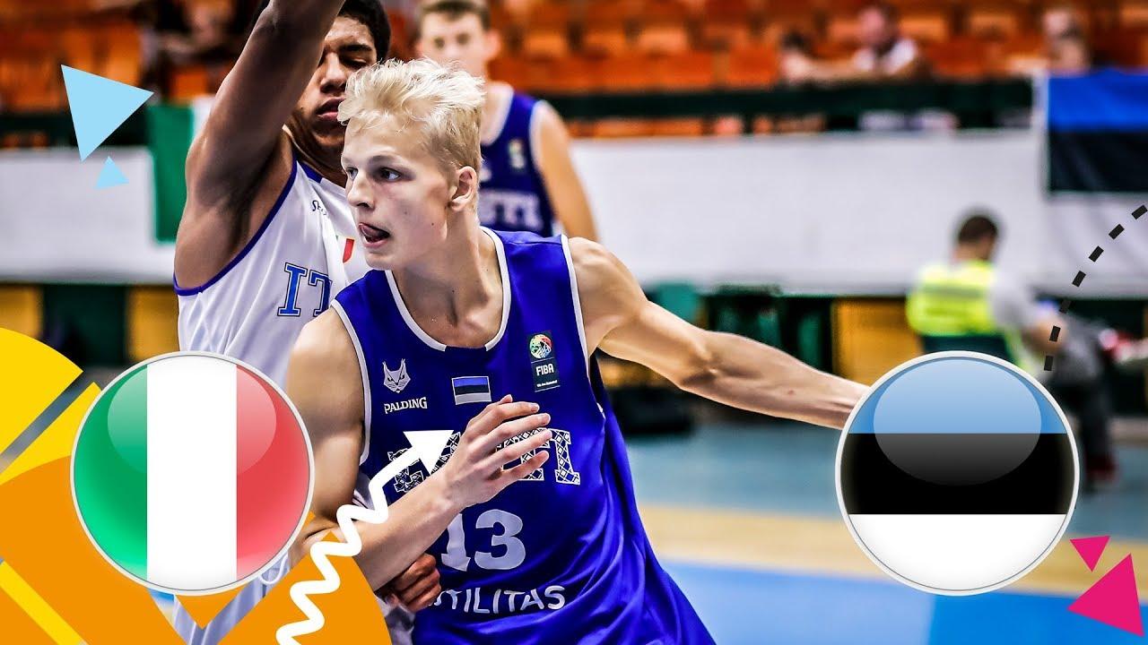 Re-watch Italy v Estonia