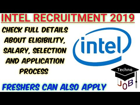 Intel Recruitment for Freshers | Internship | B Tech/M Tech | Apply
