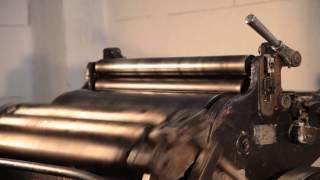 Высокая печать от печатно-переплетной мастерской