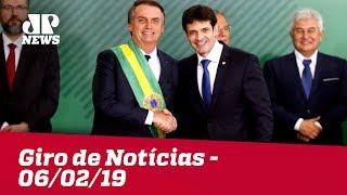 Giro de Notícias - 06/02/2019 - Primeira Edição