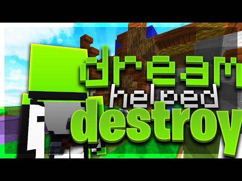Download Hypixel Bridge but DREAM helps me destroy EVERYONE (Hypixel Bridge)