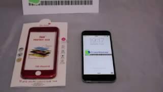 Funda 360 Grados para iPhone 6/6s/plus/7/7pus Hybrid 360 Case Full Body Luxury Cover Tempered