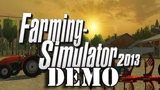 Farming Simulator 2013 - Demo - Career Mode Overview & Map Overview