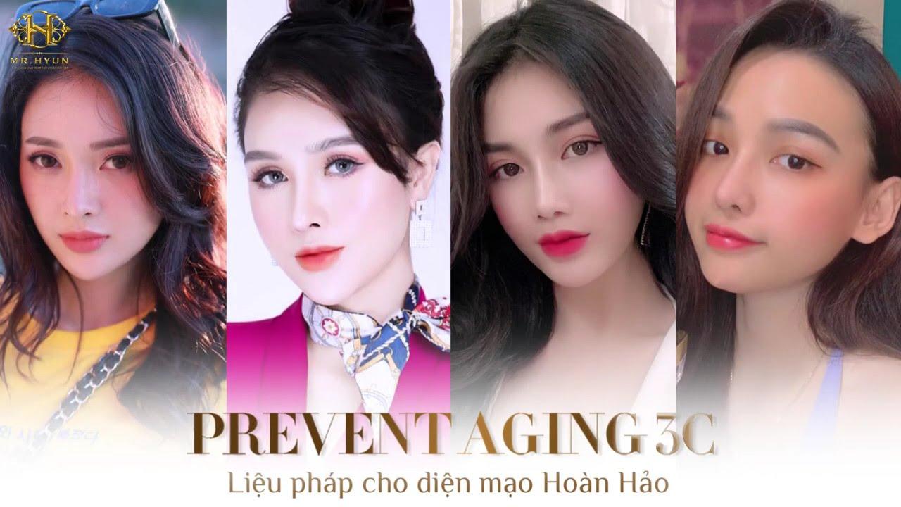 Prevent aging 3C: Công nghệ điêu khắc ngũ quan hàng đầu tới từ mr.hyun