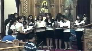 high school choir nahda 2009 day 2