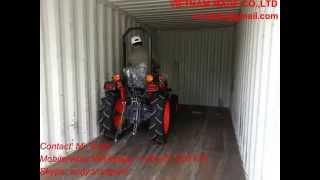 4wd 24hp mini tractor KUBOTA brand