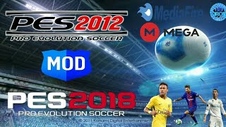 PES 2012 MOD PES 2018 100% OFFLINE (ANDROID)