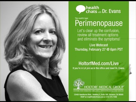 Health Chats with Dr. Evans: Perimenopause