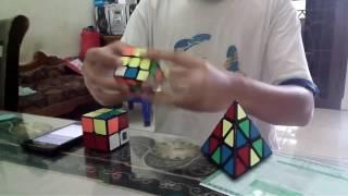 relay 2x2 3x3 pyraminx