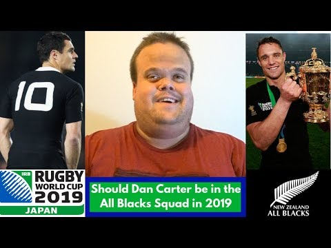 Should Dan Carter be in the All Blacks squad for the World Cup?